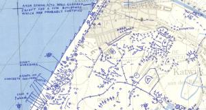 April 1945 defence overprint of Leiden West.