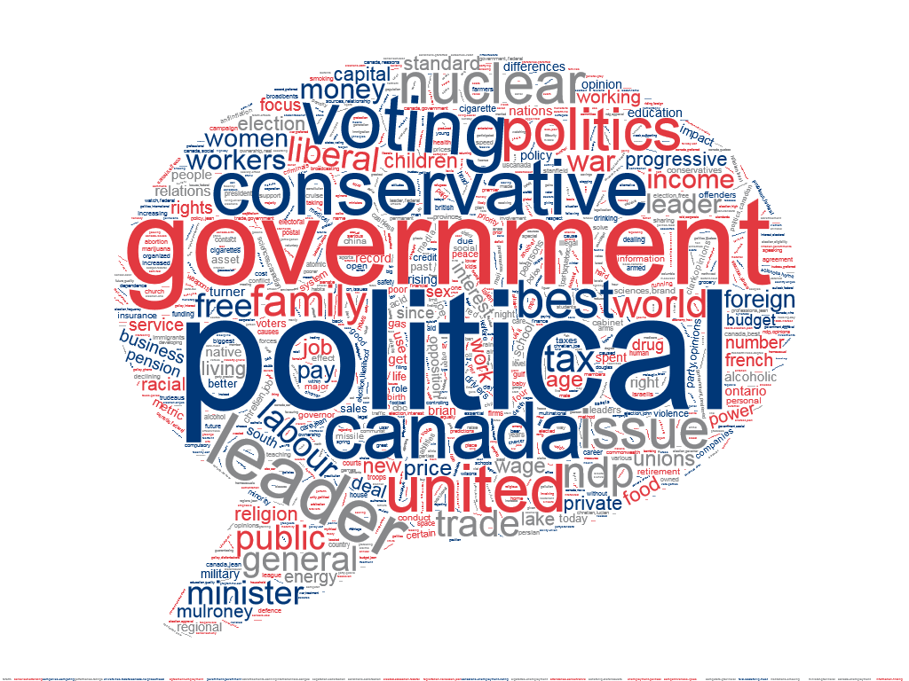 public opinion polls keyword wordcloud